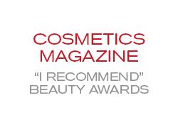 Cosmetics Magazine 'I Recommend' Beauty Awards